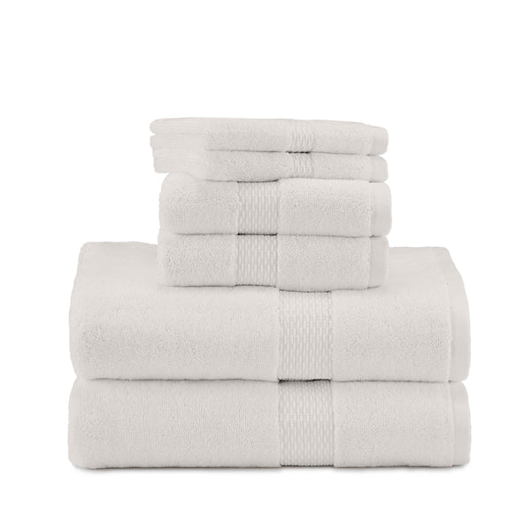 Organic Cotton Harmony 6-Piece Towel Set