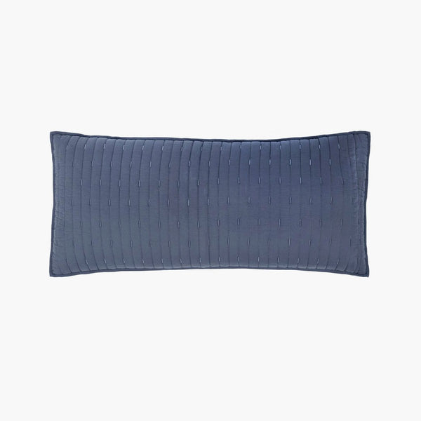 Organic Cotton Stitched Decorative Pillow