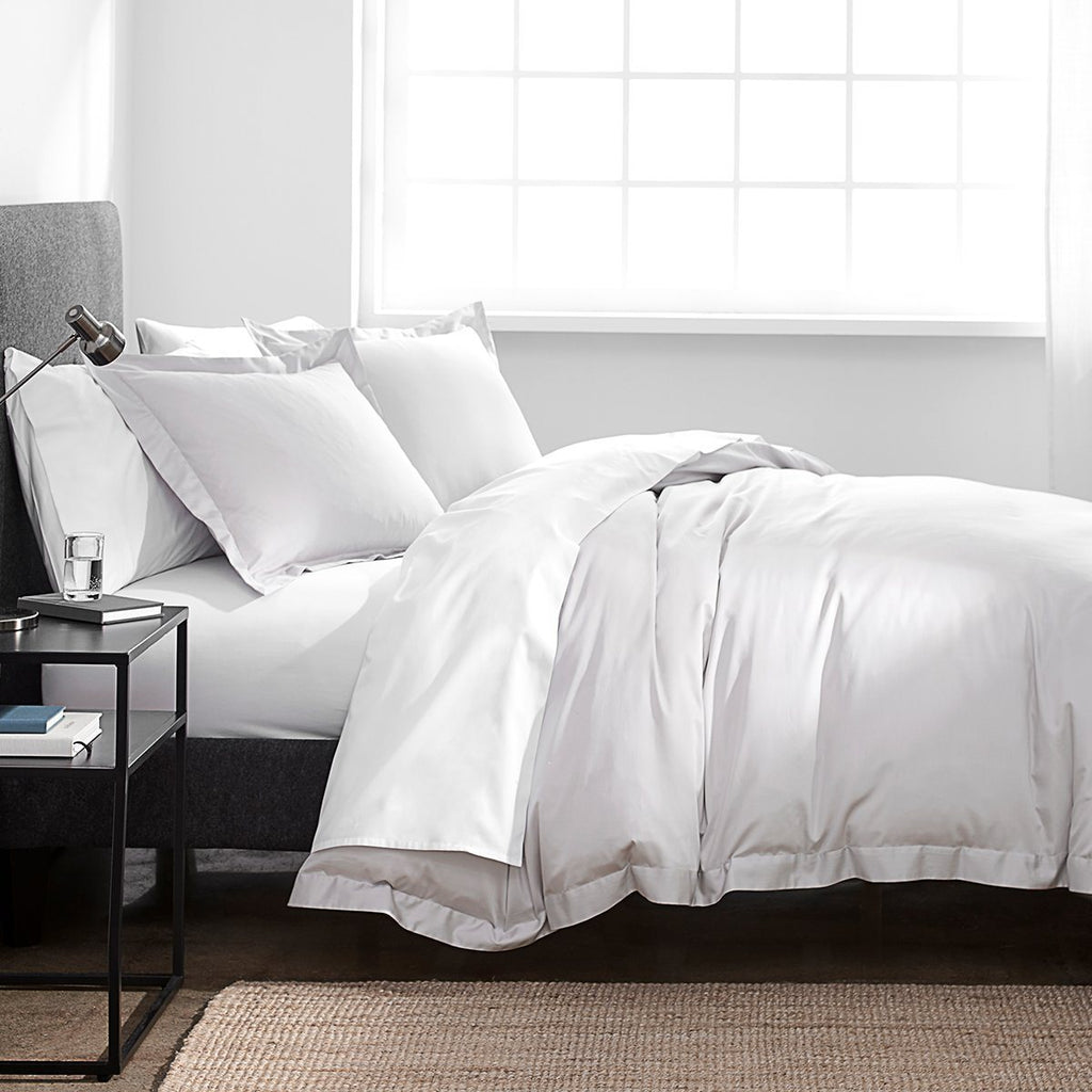 300 Thread Count Organic Duvet Cover Set - Twin Only
