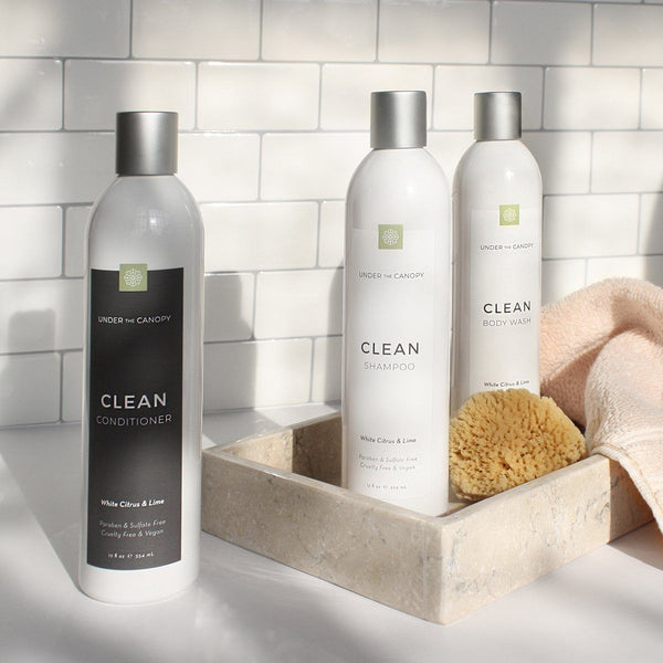 White Citrus & Lime Shampoo and Conditioner Set