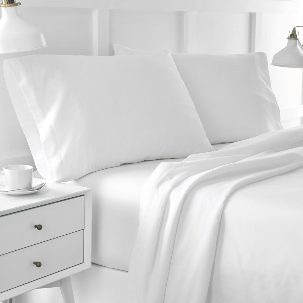 Organic Cotton Percale Sheet Set Under The Canopy