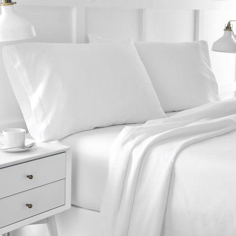 Twin XL Organic Cotton Percale Sheet Set