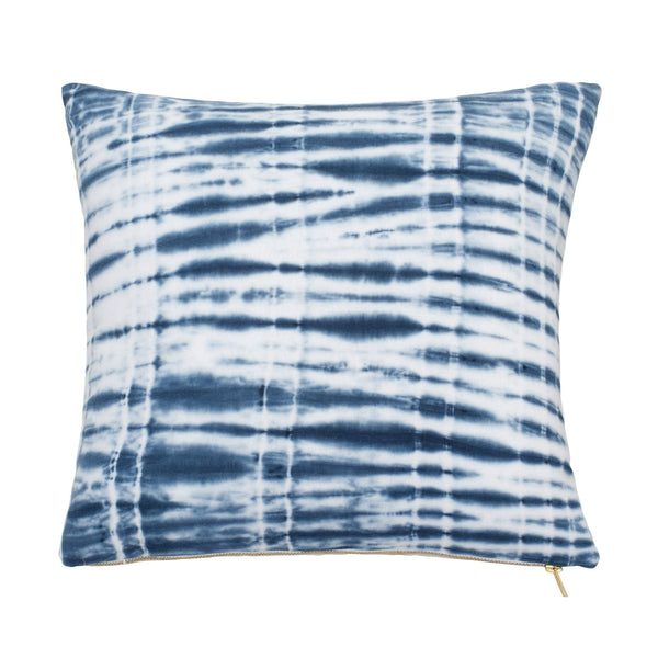 Shibori Chic Tie Dye Decorative Pillow
