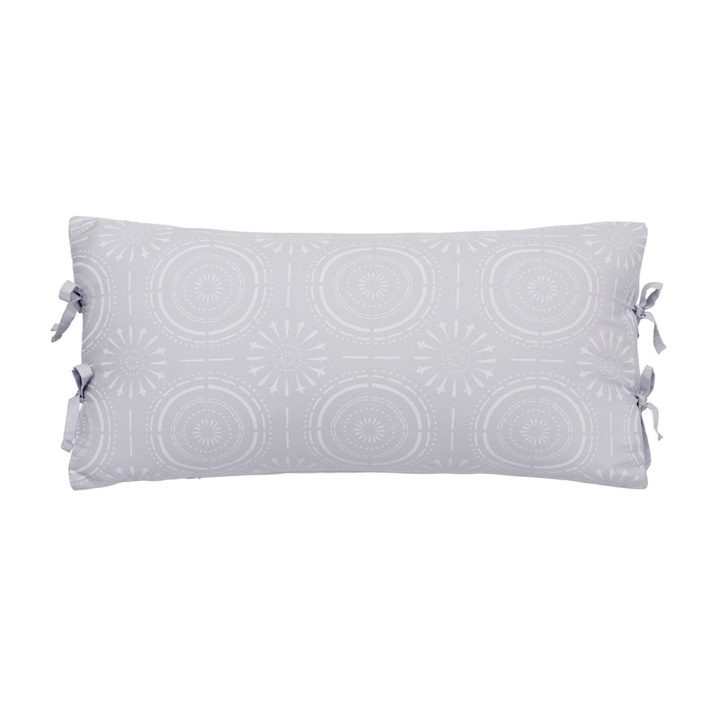 Urban Edgelands Medallion Decorative Pillow