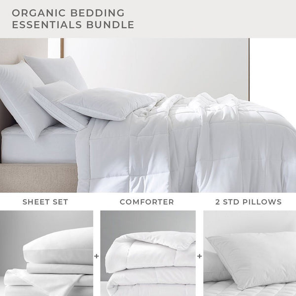 Organic Bedding Essentials Bundle