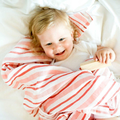 Organic Cotton Muslin Lula Swaddle Blanket