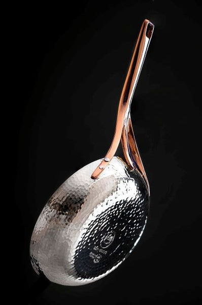 GNT Series  Pure Solid Silver Frying Pan