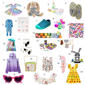Easter gift guide by Worthy Threads clothing brand
