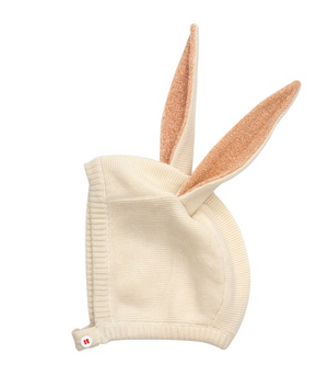 Bunny Bonnet: product recommended in Easter Bunny Gift Guide by Worthy Threads, a unique toddler clothing brand.