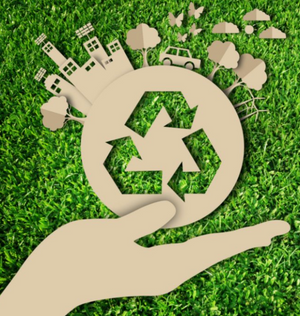 Cut out recycle image for Sustainability Blog