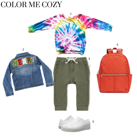 worthy threads multi tie dye raglan in cozy clothes