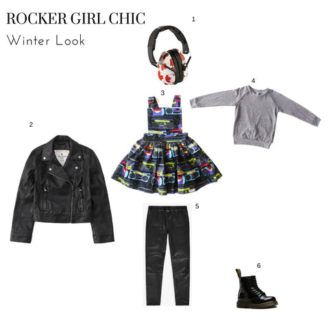 boombox pinafore winter look