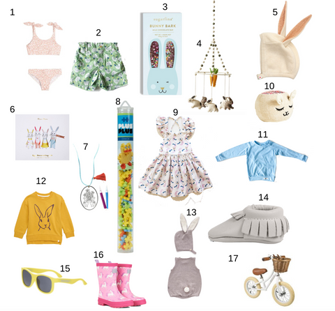 Worthy Threads Easter Bunny Gift Guide
