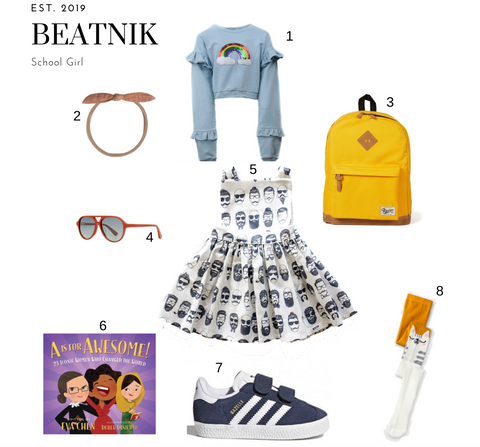 Beatnik School Girl Outfit