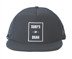 Bitty Brah Black Surf Up Brah Hat