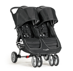 Black City Mini Double Stroller