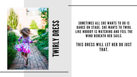 worthy threads lookbook - twirly dress