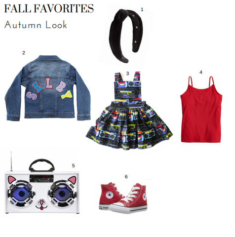 Boombox Pinafore Fall Look