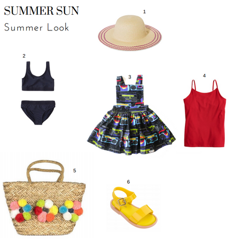 Boombox Pinafore Summer Look