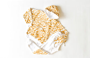 Adult hand painted tiger loungewear set: tiger print hoodie and joggers