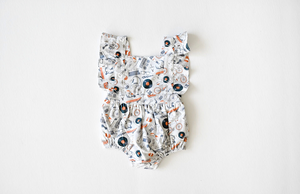 Baby bubble romper in Hipster Kit: unique baby clothes