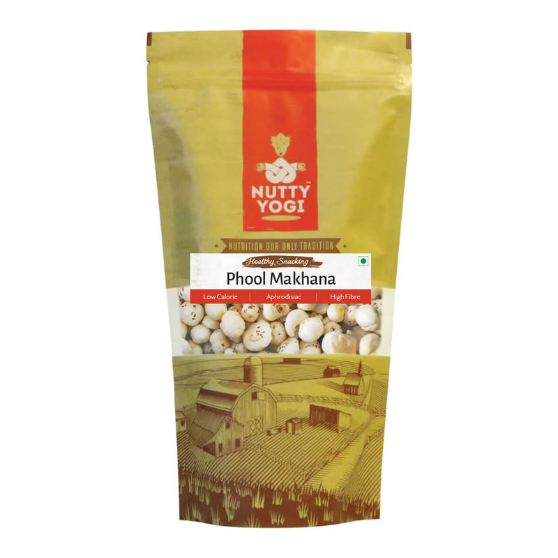 Raw Phool Makhana / Fox Nuts.