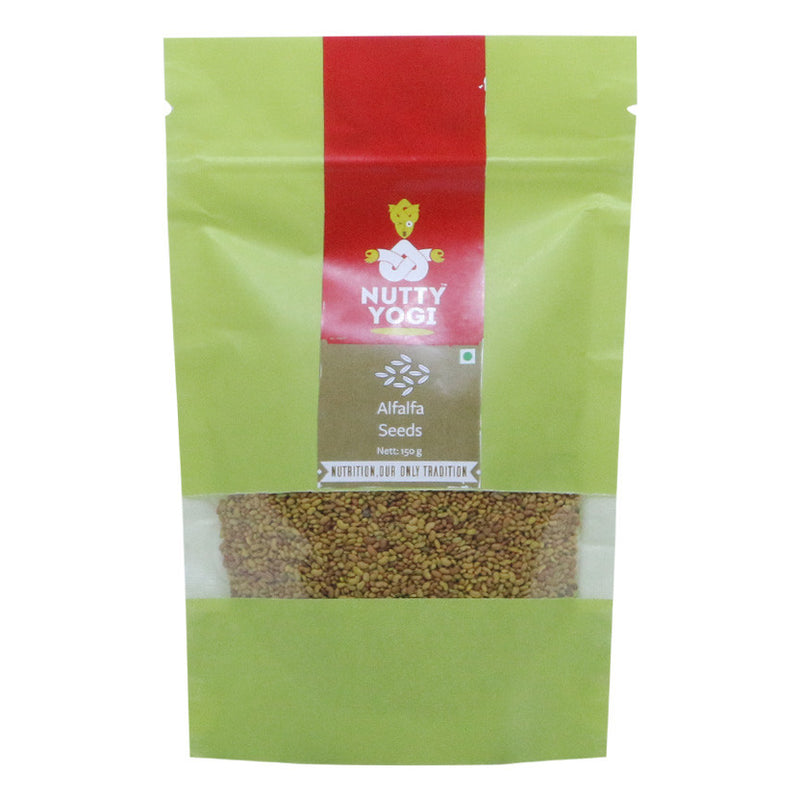 Alfalfa Seeds - Nutty Yogi