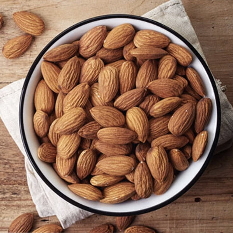 Premium Californian Almonds.