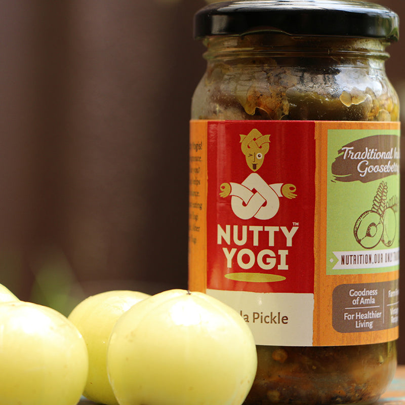 Amla Pickle - Nutty Yogi