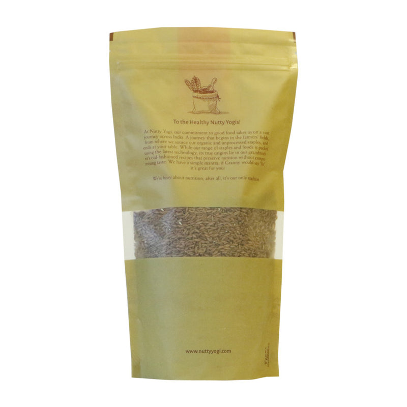 Organic Bamboo Rice - Nutty Yogi