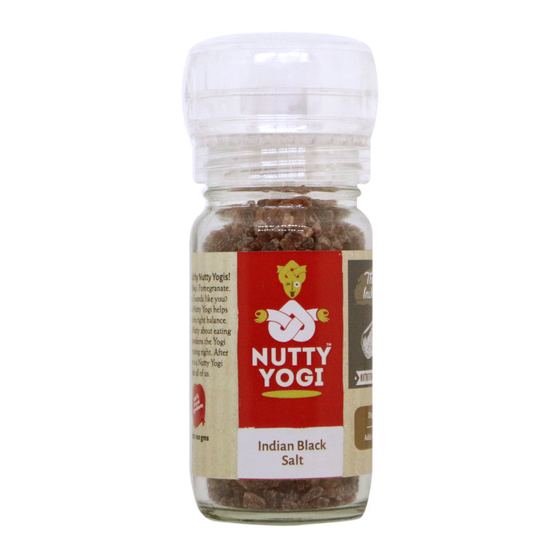 Indian Black Salt - Nutty Yogi