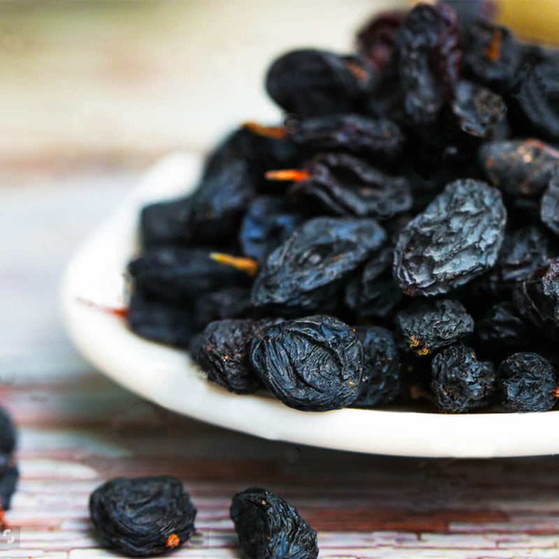 Black Persian Raisins.