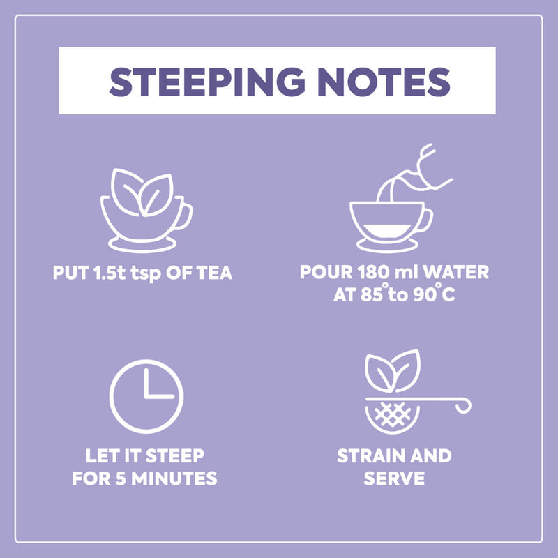 Nutty Yogi Calm Tea | Lavender & Herbs Tisane I 50g.