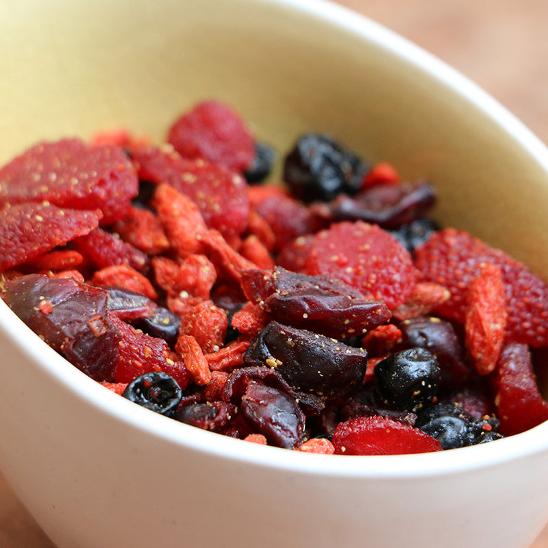 Very Berry Antioxidant Trail Mix - Nutty Yogi