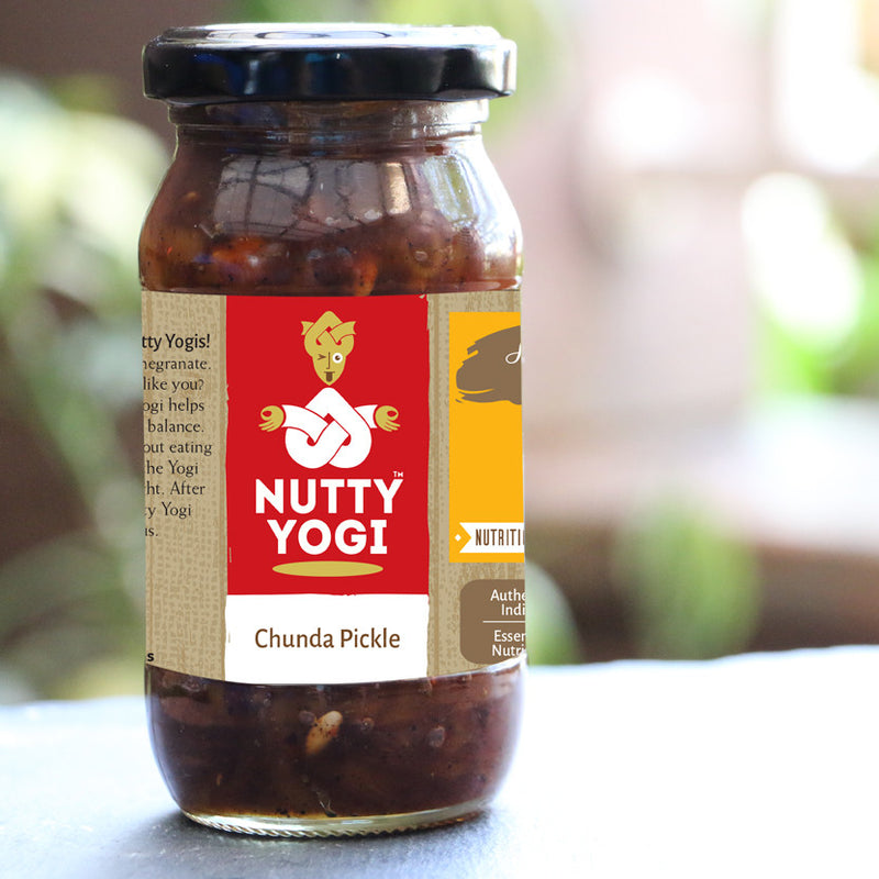 Chunda Pickle - Nutty Yogi