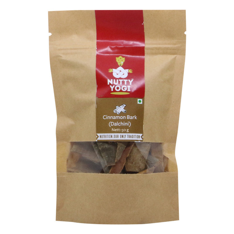 Organic Cinnamon Bark - Nutty Yogi