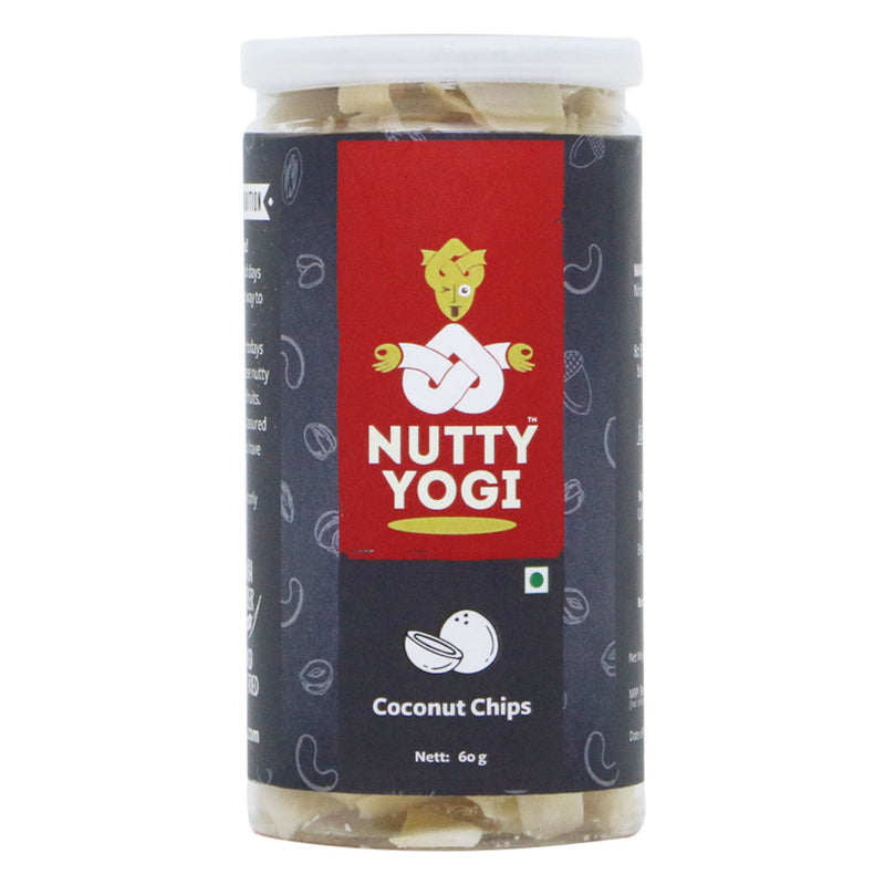 Coconut Chips - Nutty Yogi