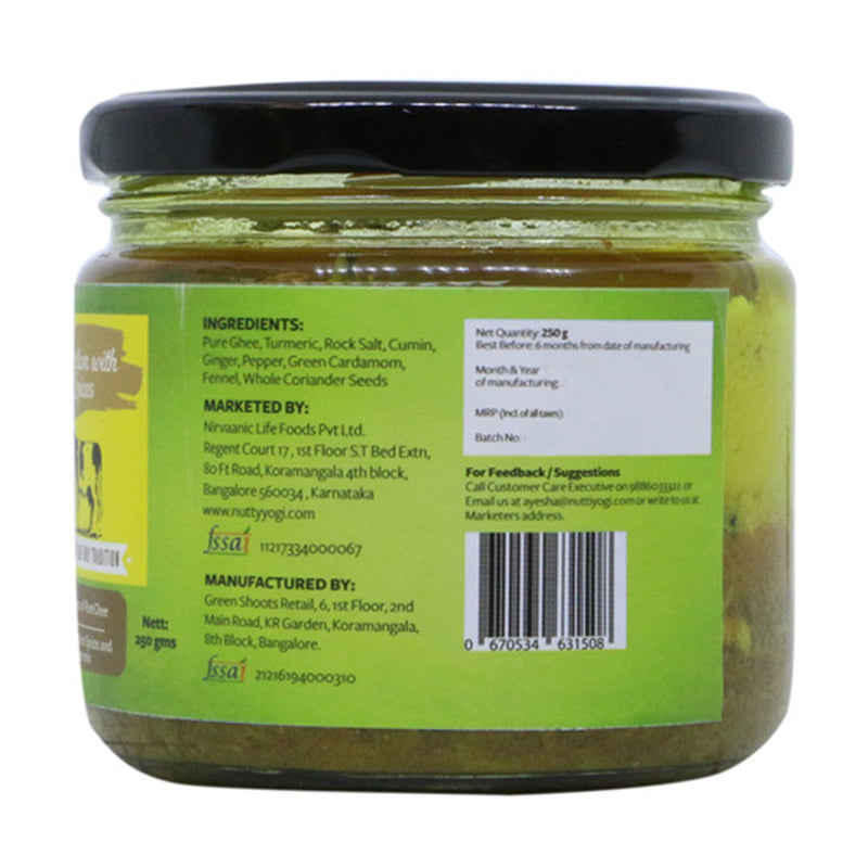 Detox Ghee Tadka 250 ml.