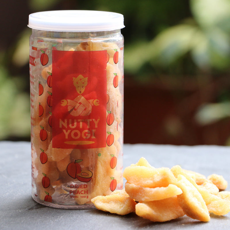 Dried Peach - Nutty Yogi