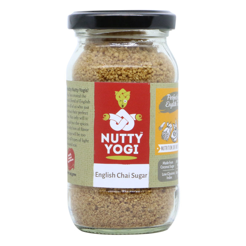 English Chai Sugar - Nutty Yogi