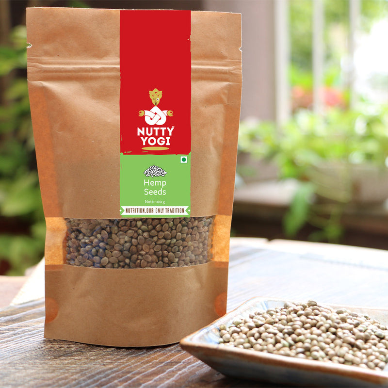 Hemp Seed - Nutty Yogi