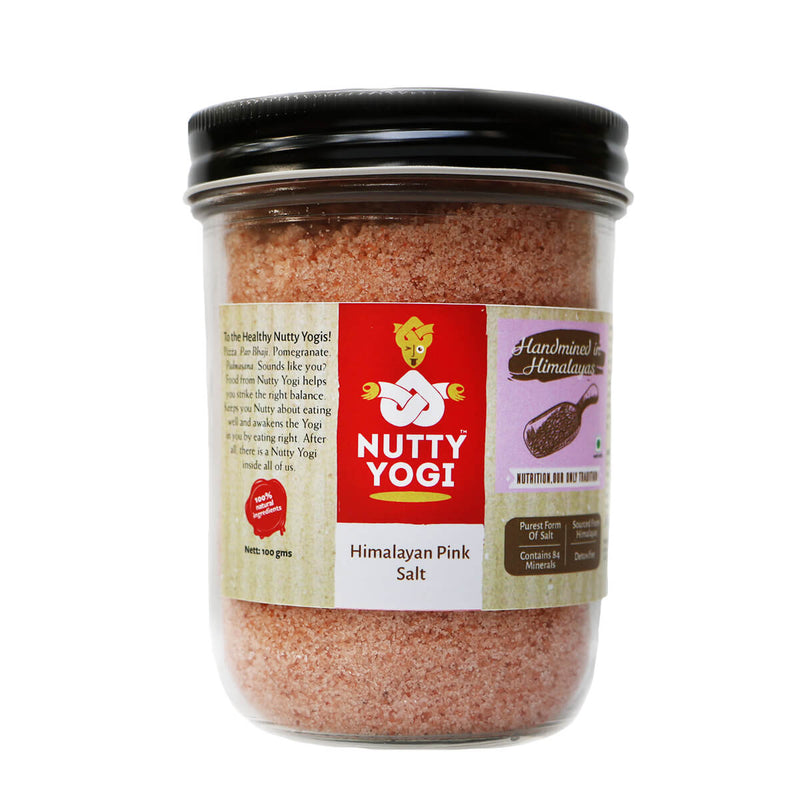 Himalayan Pink Salt 500 gm Jar
