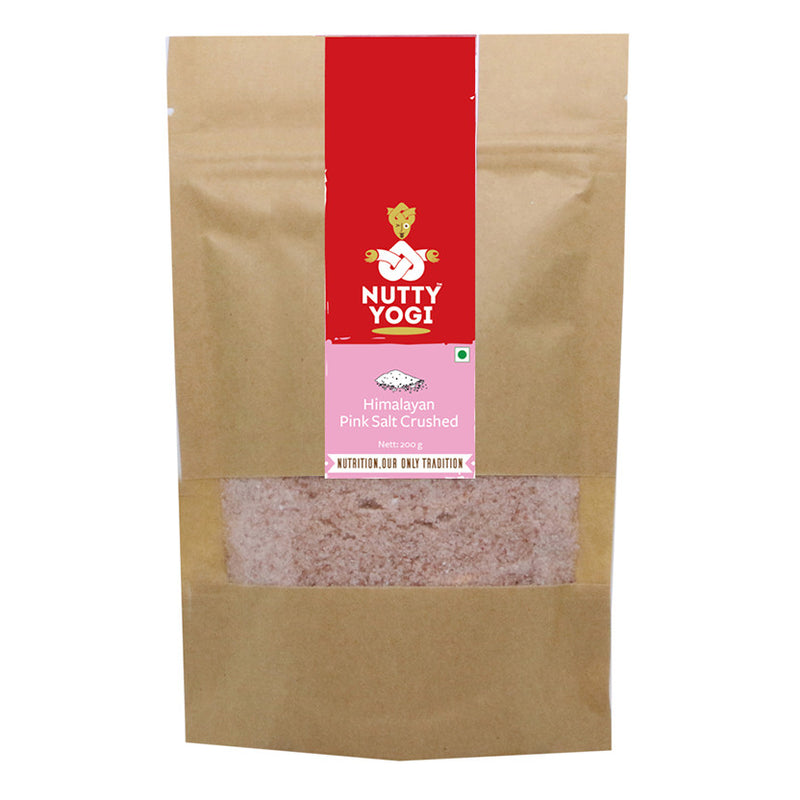 Himalayan Pink Salt Crushed - Nutty Yogi