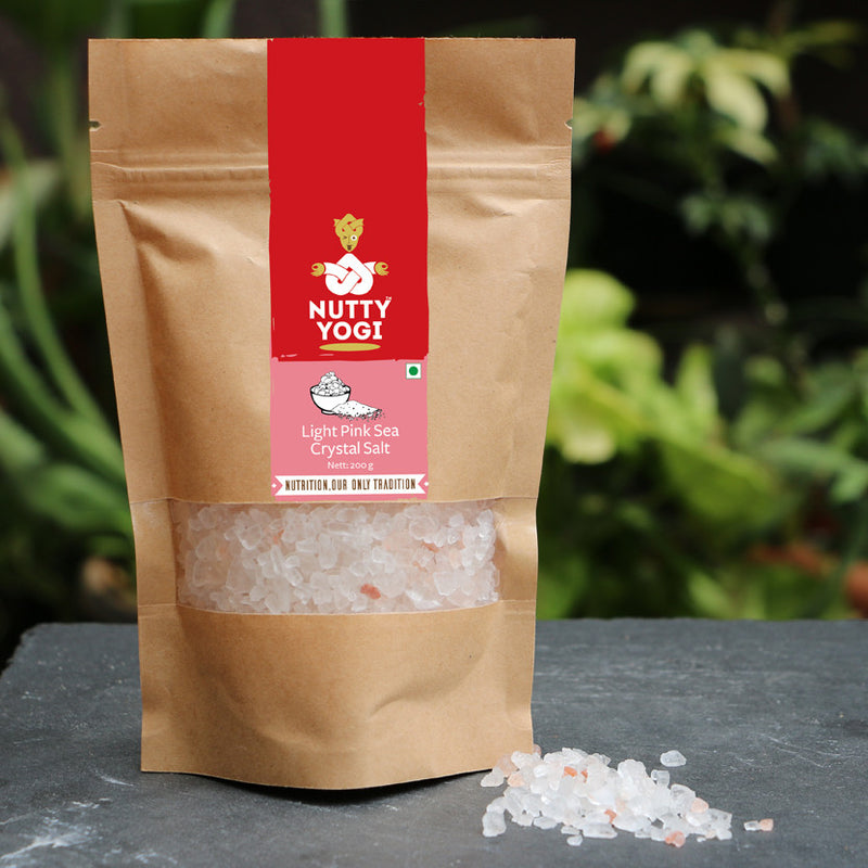 Light Pink Sea Crystal Salt - Nutty Yogi
