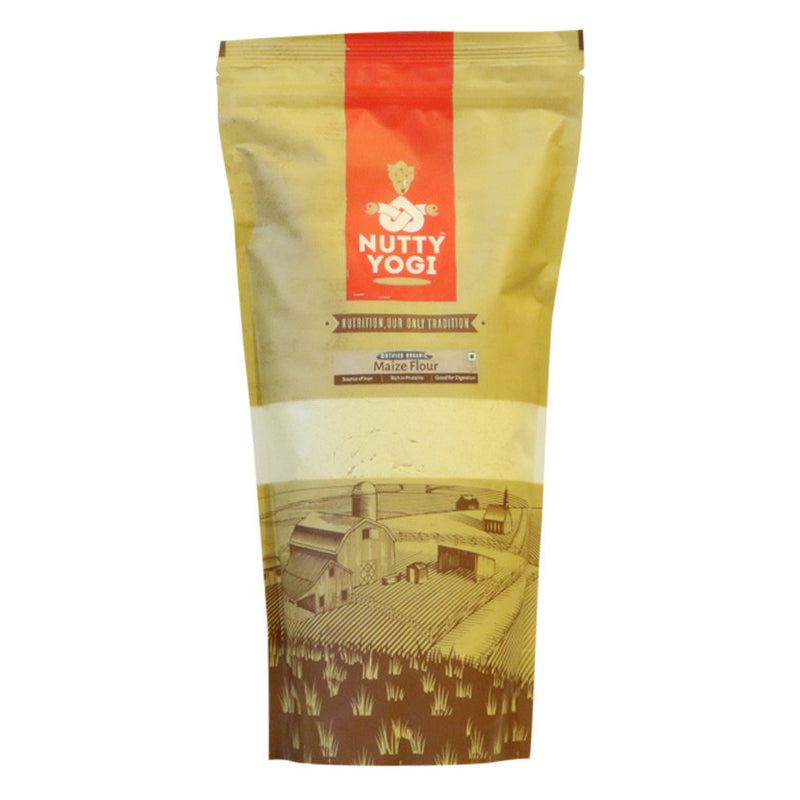 Organic Maize Flour - Nutty Yogi