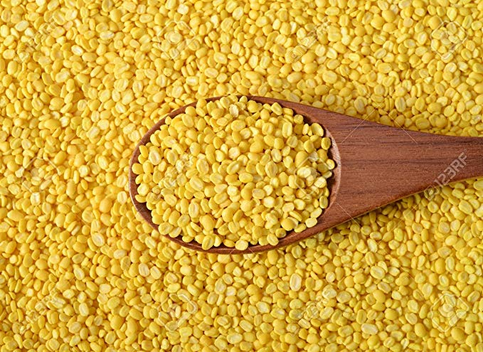 Organic Yellow Moong Dal.