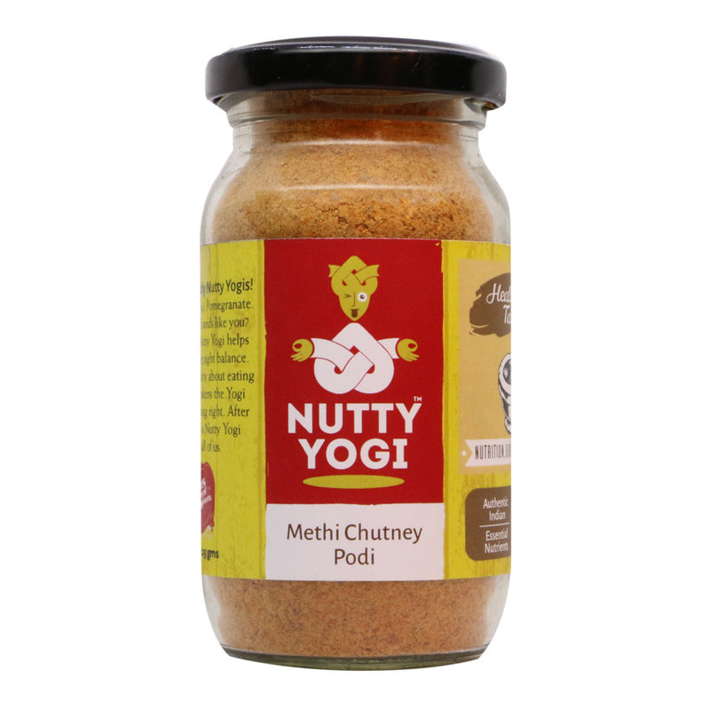 Methi Chutney Podi - Nutty Yogi