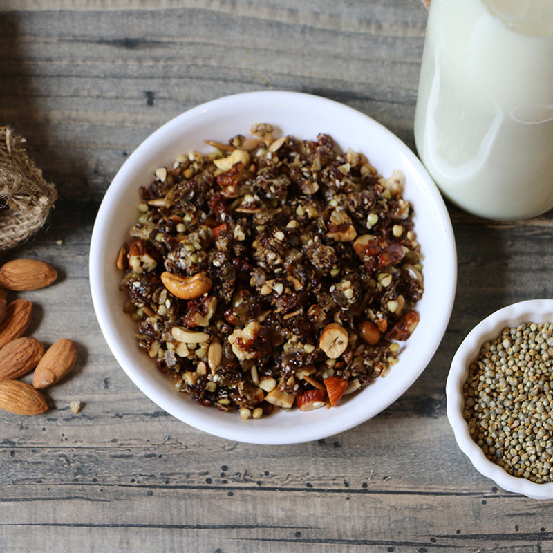 Buckwheat Groats and Millets Muesli - Nutty Yogi