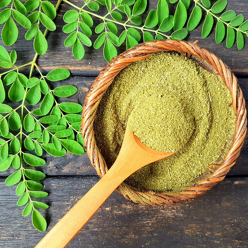 Moringa  Powder - Nutty Yogi