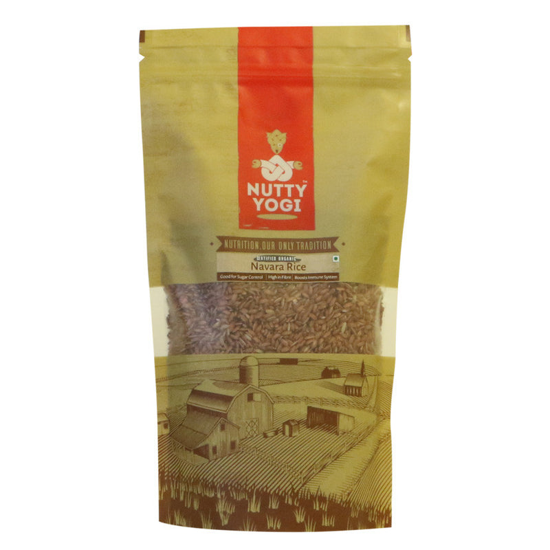 Organic Navara Rice - Nutty Yogi
